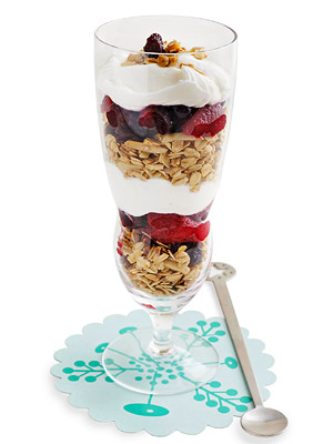 Yogurt Parfait with Homemade Granola
