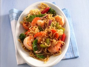 Ramen Shrimp and Vegetables