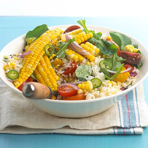 Fresh Corn-Rice Salad