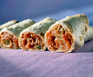 Pizza Tortilla Rolls