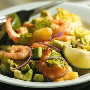 Margarita Shrimp Salad