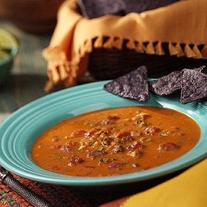 Blue Corn Tortilla Soup