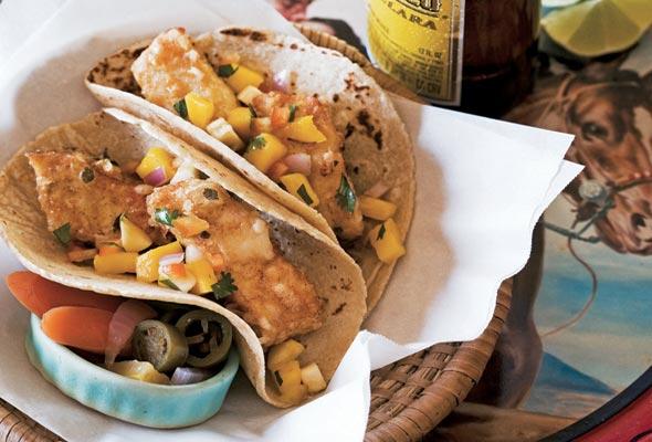 Baja-style Tempura Fish Tacos Recipe