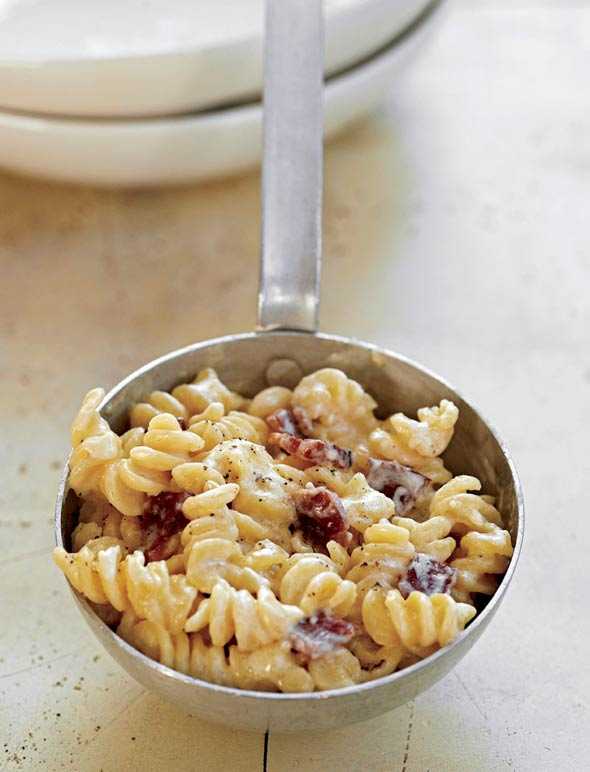 Bacon And Cheddar Macaroni And Cheese Recipe