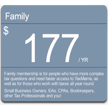 TaxMama Family Membership