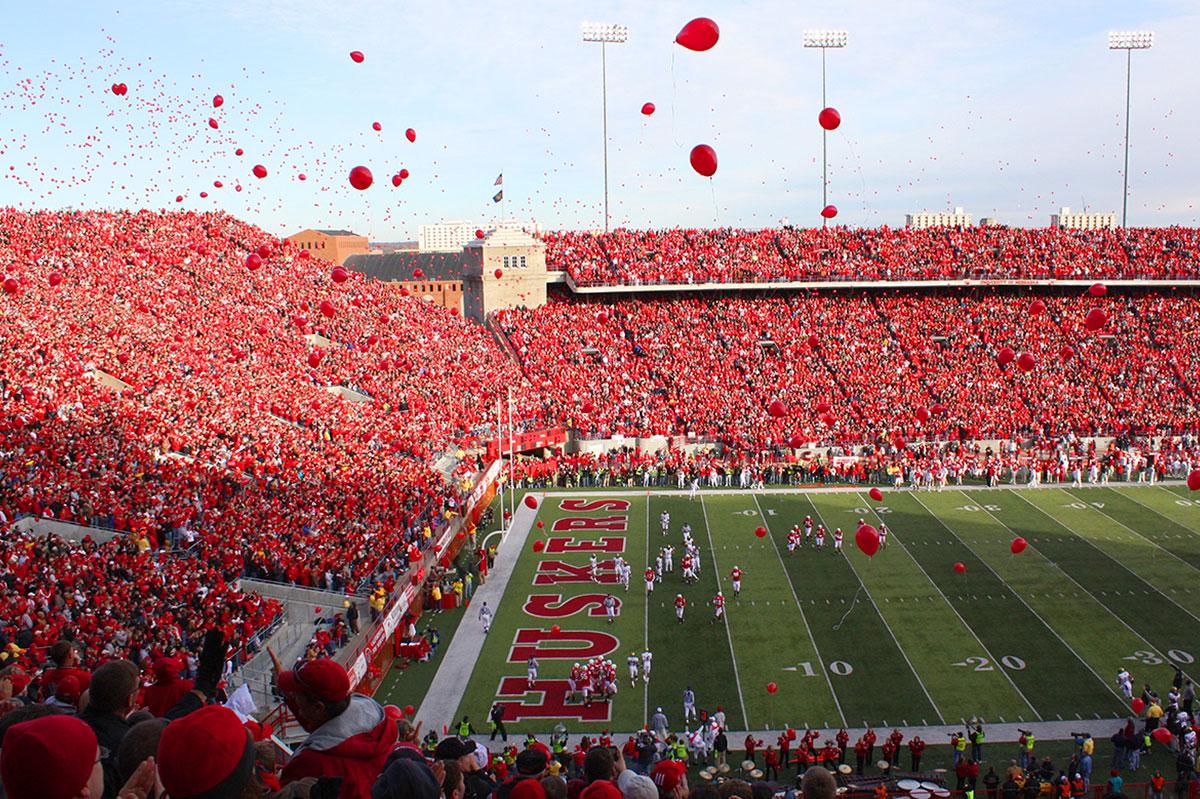 Nebraska Cornhuskers ballons
