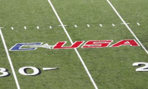 Conférence USA logo field