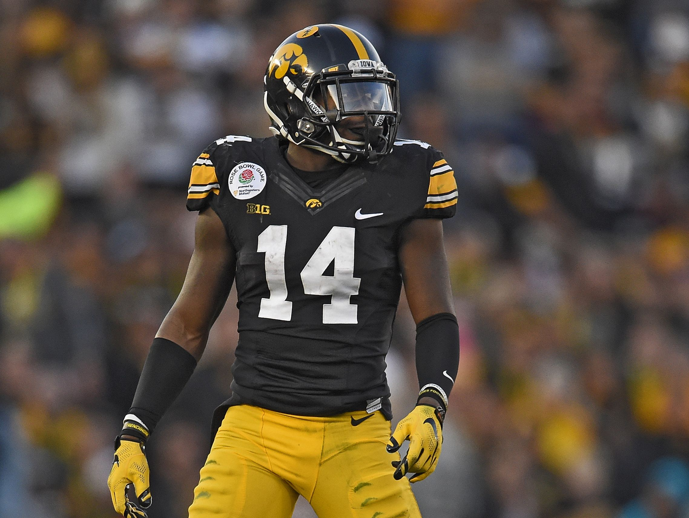 Desmond King, Iowa
