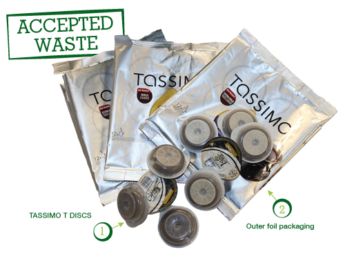 Tassimo Brigade Accepted Waste