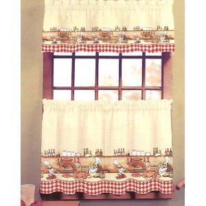 Chefs Kitchen Curtains