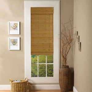 Lewis Hyman Taos Natural Roman Shade: 52 in. W. x 64 in. L.