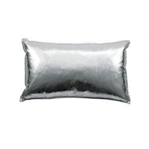 Blissliving Home Rocco Silver Pillow Modern Pillows