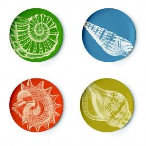 Thomas Paul Sea Life Coaster Plates Set Dishes