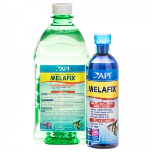 Aquarium Pharmaceuticals MelaFix Antibacterial Fish Remedy - Bacterial and Fungal Aquarium Medications Best Price