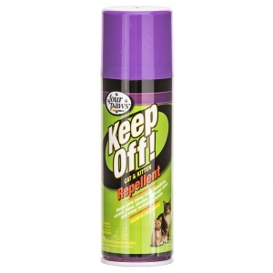 Four Paws Keep Off! Indoor and Outdoor Cat and Kitten Repellent: 6 oz #17010 - Cat Training Repellent Best Price