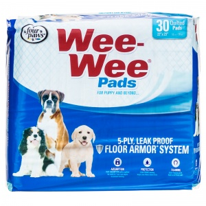 Four Paws Wee Wee Pads Original - (22 x 23): 30 Pack #01630 - Dog Housetraining Aids Best Price