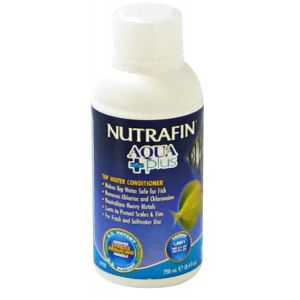 Nutrafin Aqua Plus Water Conditioner: 8 oz #A-7654 - Aquarium Water Conditioners Best Price