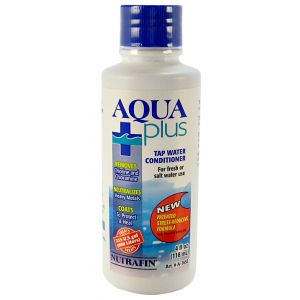 Nutrafin Aqua Plus Water Conditioner: 4 oz #A7927 - Aquarium Water Conditioners Best Price