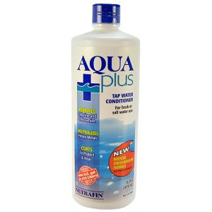 Nutrafin Aqua Plus Water Conditioner: 16 oz #A7929 - Aquarium Water Conditioners Best Price