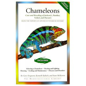 AVS Books Chameleons Care and Breeding Book