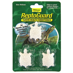 Tetrafauna ReptoGuard Turtle Sulfa Block: 1 pack #16968 - Reptile Water Treatments Best Price