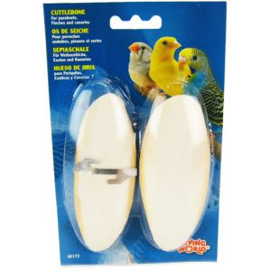 Living World Cuttlebone - 2 Pack: Small 12.5cm #82172 - Bird Beak Conditioners Best Price