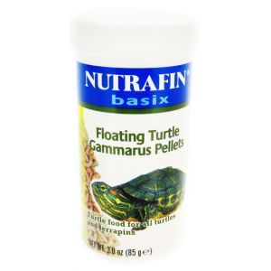 Nutrafin Basix Floating Gammarus Turtle Pellets: 85 grams #A7424 - Aquatic Turtle Food Best Price