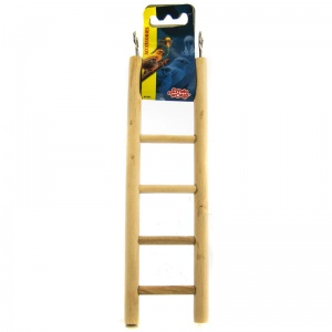 Living World Wood Ladders: 5-Step Wood Ladder #81501 - Bird Ladders and Activity Centers Best Price