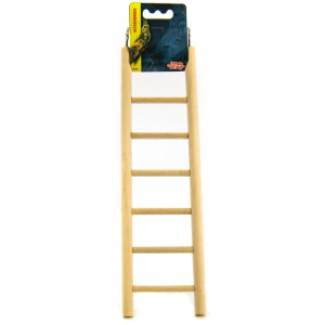 Living World Wood Ladders: 7-Step Wood Ladder #81502 - Bird Ladders and Activity Centers Best Price