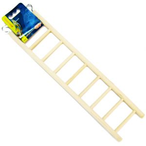 Living World Wood Ladders: 9-Step Wood Ladder #81503 - Bird Ladders and Activity Centers Best Price