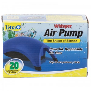 Tetra Whisper Air Pumps: 20 Gallon - 1 Outlet #77852 - Aquarium Air Pumps Best Price