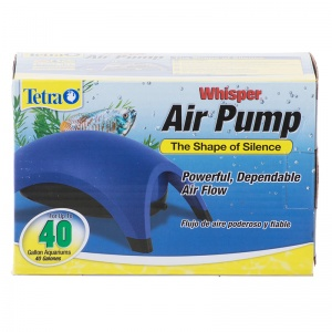 Tetra Whisper Air Pumps: 40 Gallon - 1 Outlet #77853 - Aquarium Air Pumps Best Price