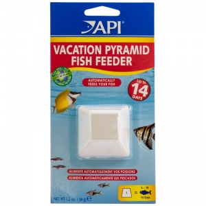 Aquarium Pharmaceuticals 7-Day Pyramid Fish Feeder #71A - Fish Vacation Feeder Blocks
