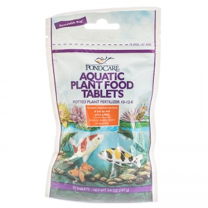PondCare Aquatic Plant Food Tablets: 25 Tablets