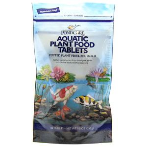 PondCare Aquatic Plant Food Tablets: 60 Tablets