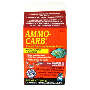 Aquarium Pharmaceuticals Ammo-Carb: 9 oz #80A - Aquarium Filter Chemical Media Best Price