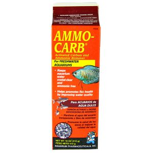Aquarium Pharmaceuticals Ammo-Carb: 18 oz #80B - Aquarium Filter Chemical Media