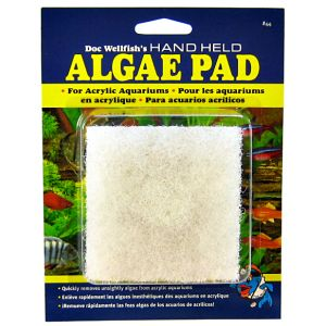API Doc Wellfish's Hand Held Algae Pad for Acrylic Aquariums: Doc Well