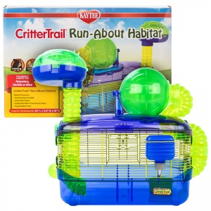 Super Pet Critter Trail Z Run About Habitat: 9.5L x 15W x 11H #60516 - Small Pet Habitats