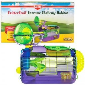 Super Pet CritterTrail Extreme Challenge Habitat (X) - Small Pet Habitats Best Price