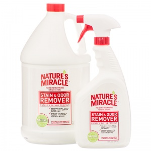 Natures Miracle Stain and Odor Remover: 24 oz with Sprayer #5104-12 - Dog Stain and Odor Control Best Price