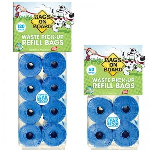 Bags on Board Bags On Board Refill - Dog Poop Pickup Bags Best Price