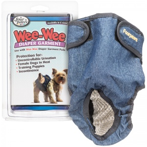 Four Paws Wee Wee Diaper Garment - Dog Diapers and Garments Best Price