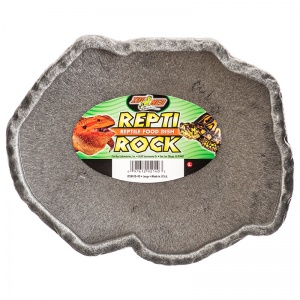 Zoo Med Repti Rock Food Dish - Reptile Food Bowls Best Price