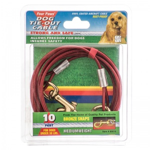 Four Paws Tie Out Cable - Medium Weight