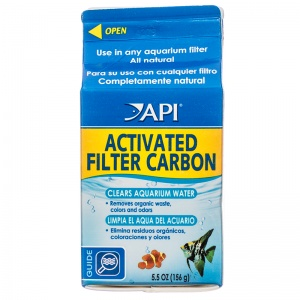 Aquarium Pharmaceuticals Activated Filter Carbon: 3.5 oz #76A - Aquarium Filter Carbon