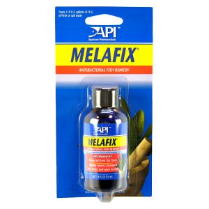 Aquarium Pharmaceuticals MelaFix Antibacterial Fish Remedy: 2 oz - (Treats 110 Gallons) #11L - Bacterial and Fungal Aquarium Medications Best Price