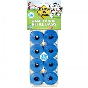 Bags on Board Bags On Board Refill: 120 Pack #B84A - Dog Poop Pickup Bags