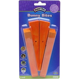 Super Pet Bunny Bites: Carrot #61170 - Small Pet Chew Treats Best Price