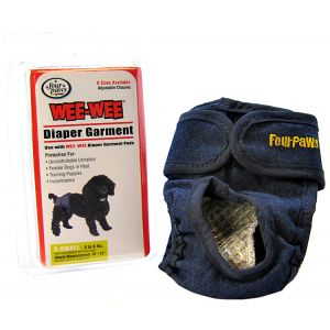 Four Paws Wee Wee Diaper Garment: X-Small - (Waist 10-13 - 4-8 lbs) #18891 - Dog Diapers and Garments Best Price